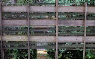 custom cedar screen after 8 years, fences, outdoor living, Custom Cedar Screen