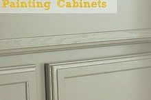 lazy girl s guide to painting cabinets, diy, kitchen cabinets, painting