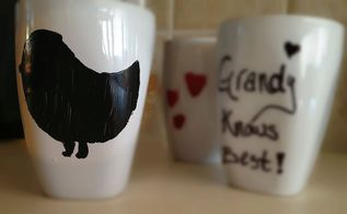 cheap amp easy diy personalized mugs, crafts, valentines day ideas, DIY Personalized Mug Little Birdie