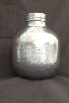 i just silvered this martinelli s glass apple juice bottle step 1 spray glass with, crafts, silvered Martinelli s glass apple juice bottle