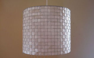 modern coffee filter lighting, crafts, home decor, repurposing upcycling
