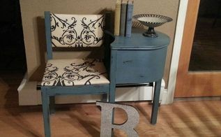 gossip table re design, chalk paint, painted furniture, Waxed and ready for a new home