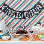 8 graduation decorations that will make them blush, crafts, home decor, Chalkboard Pennants via AllThings G D