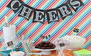 8 graduation decorations that will make them blush, crafts, home decor, Chalkboard Pennants via AllThings G D