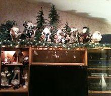 christmas decorating, christmas decorations, seasonal holiday decor, No mantle no worries