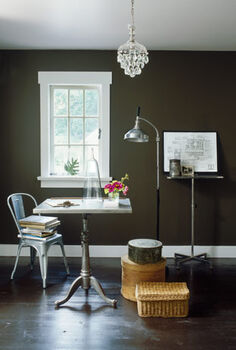 paint colors for small spaces, home decor, painting, urban living, Grange Hall wall paint by Ralph Lauren