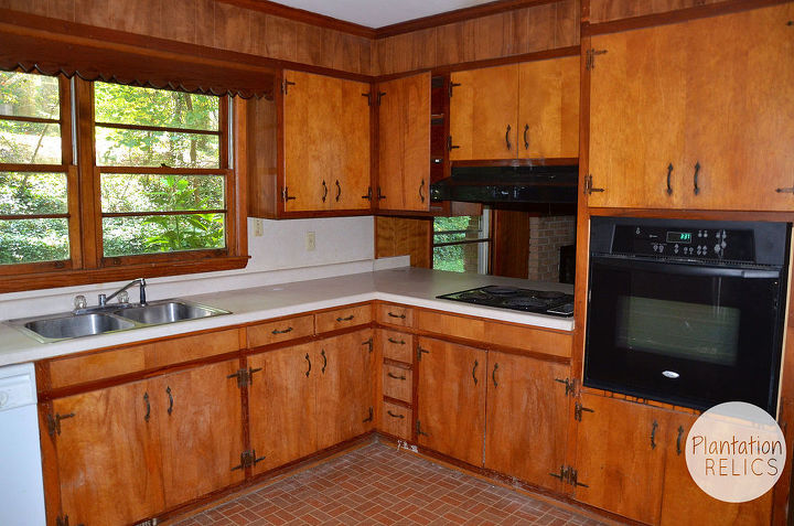 Flip House 1960s Kitchen Before And After A Major