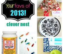 your favorite projects of 2013, crafts, decoupage