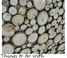 the many uses of tree branch slices, crafts, woodworking projects