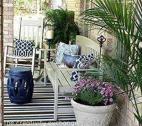 Marvelous Front Porch Revamp How To Spray Paint Outdoor Furniture, Curb Appeal, Outdoor  Furniture,