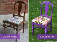 19 Fabulous Chair Makeovers Idea Box By Misty The Cedar
