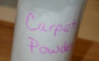 homemade carpet powder, cleaning tips, flooring