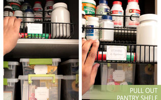 organizing misc items creating kits, organizing, Finally store all your kits medicines and vitamins together in one pantry space