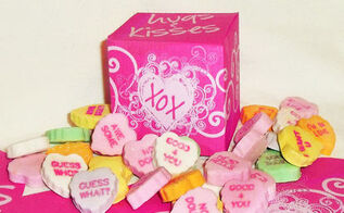 tiny gift box hugs and kisses valentine box free printable, crafts, valentines day ideas