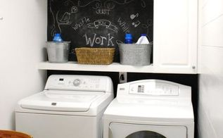 laundry room made over by a girl on a budget, laundry rooms
