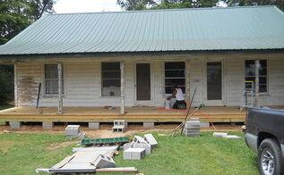 farmhouse renovation, home improvement, porches