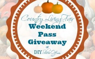 country living fair weekend pass giveaway who wants to go