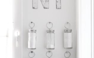 simple spice storage, organizing, storage ideas, Functional pretty