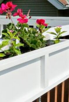 diy project deck planter boxes, diy, gardening, woodworking projects, DIY Project Deck Planter Boxes