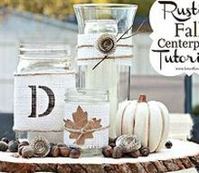 rustic chic fall centerpiece tutorial, crafts, Rustic Chic Fall Centerpiece Tutorial