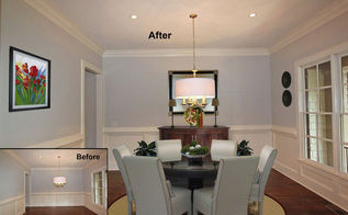 virtual staging before after photo of the week happy friday, home decor, living room ideas, real estate, Photo courtesy of VSP