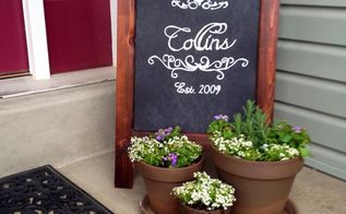 front porch chalkboard, outdoor living, porches