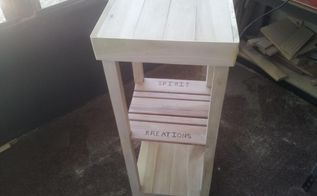 refurbished pallet into a plant stand, diy, pallet, woodworking projects