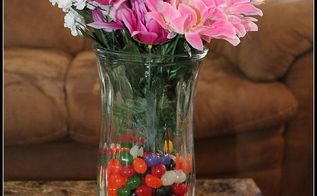 simple easter centerpiece, easter decorations, seasonal holiday d cor