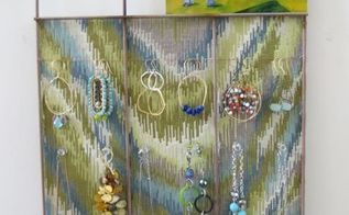 bulletin board or jewelry display made from recycled garden fence, crafts, repurposing upcycling, Jewelry Display made from Garden Fence