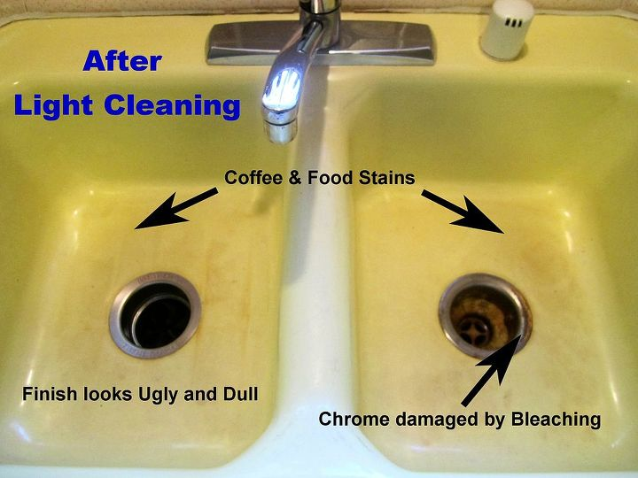 Removing Kitchen Sink Stains Preventing Them From Coming Back Cleaning Tips Kitchen Design