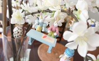 easter tree, easter decorations, gardening, seasonal holiday d cor
