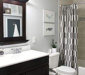 Superior Shared Boys Guest Bathroom, Bathroom Ideas, Home Decor, The Finished  Bathroom