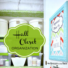 hall closet organization, closet, organizing, storage ideas