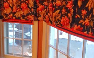 diy roman shades, home decor, reupholster, window treatments, windows