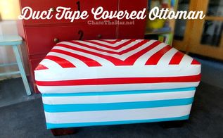 Duct Tape Covered Chair Hometalk