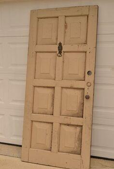 8 paneled door headboard, doors, repurposing upcycling, woodworking projects