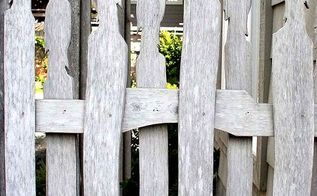 garden fencing ideas with redwood palings that have taken off, diy, fences, outdoor living, woodworking projects, Carved fencing detail