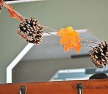 pinecone garland, crafts, seasonal holiday decor, This project took about 30 minutes from start to finish to complete