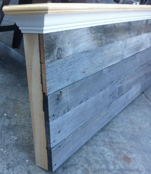 Queen Size Barn Wood Headboard Bedroom Ideas Painted Furniture - Barn Wood Headboard - Wood Boring Insects