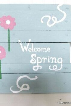 scrapwood sign it s a spring thing my uncommon slice of surbibia
