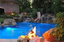 pool party ideas, outdoor living, pool designs, Big Kid Pool via Deck and Patio Company
