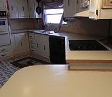 painting countertops, chalk paint, countertops, painting, I first used Rustoleum counter paint the results were disastrous with chipping bubbles and over all poor finish