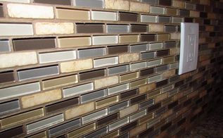 how to install tile backsplash, diy, how to, kitchen backsplash, tiling, The finished product will be a beautiful wall of tile