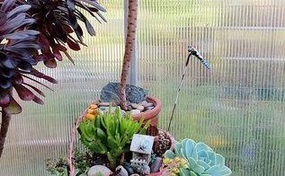 my spring garden, flowers, gardening, outdoor living, succulents, Broken pot succulent garden
