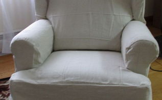 easy diy slipcovers, painted furniture, reupholster
