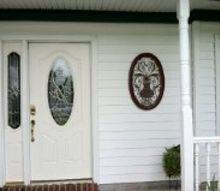 front door decor, doors, home decor