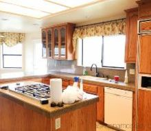 how to hide wood grain on cabinets, kitchen cabinets, kitchen design, woodworking projects