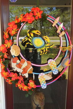 home decor, crafts, home decor, wreaths, My new Summertime Wreath