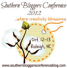 southern bloggers conference 2012 oct 12 13 raleigh nc