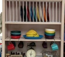 diy adding a plate rack to my cabinets, diy, kitchen cabinets